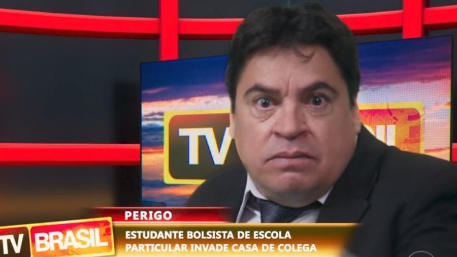 """""""Malhação"""" trouxe """"sua versão"""" do apresentador Datena - Reprodução/Globo"""