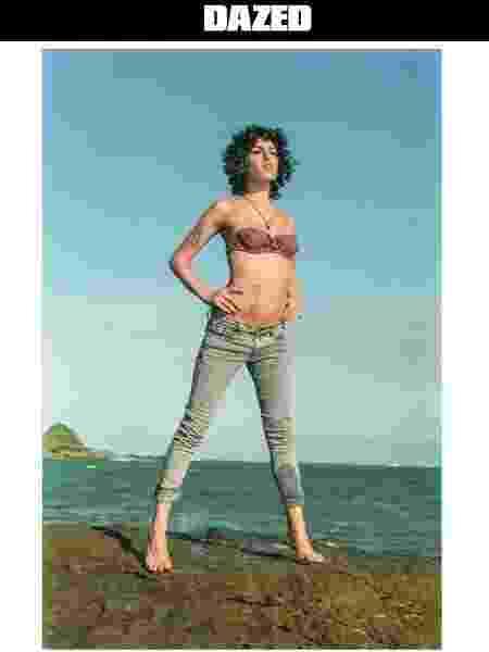 Amy Winehouse posa para o fotógrafo Blake Wood - Blake Wood/Dazed - Blake Wood/Dazed