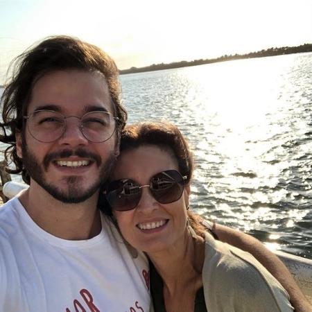 Fátima Bernardes e Tulio Gadelha celebram 10 meses de namoro - Arquivo Pessoal