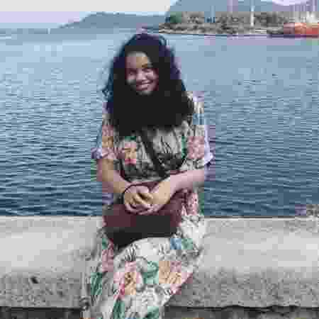 Negra de pele clara, Thais Ferreira da Silva, 24, consegue circular mais facilmente por ambientes majoritariamente brancos - Arquivo Pessoal
