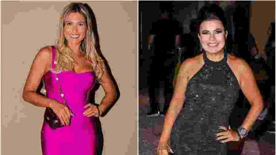 Lívia e Mara não se cumprimentam em festa de Larissa Manoela - Thiago Duran/AgNews