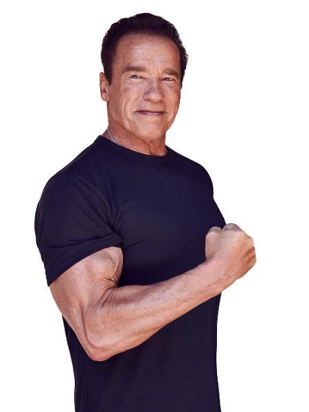 """Arnold costumava variar a intensidade do treino e até """"roubar"""" nos exercícios para conquistar melhores resultados - Divulgação"""