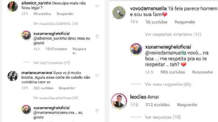 Xuxa responde a críticas sobre novo visual - Reprodução/Instagram - Reprodução/Instagram