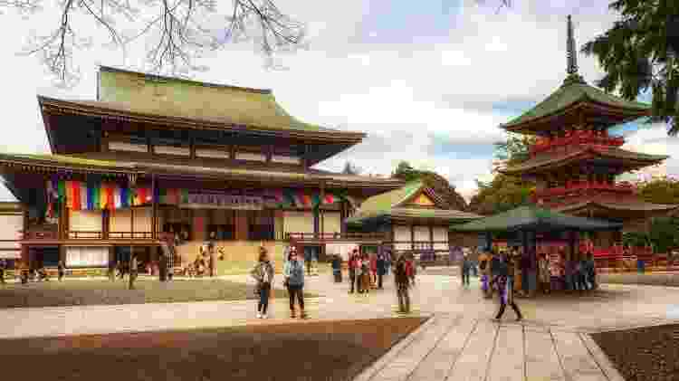 Templo Narita-san Shinshoji, em Narita, Japão - atosan/Getty Images - atosan/Getty Images