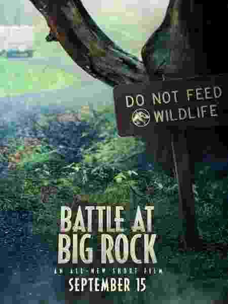 Pôster de Jurassic World: Battle at Big Rock - Reprodução/Twitter