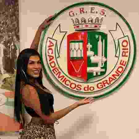 """No ano que vem, a escola leva à Marquês de Sapucaí o enredo """"Tata Londirá, o canto do caboclo no quilombo de Caxias"""" - Reprodução/Instagram"""