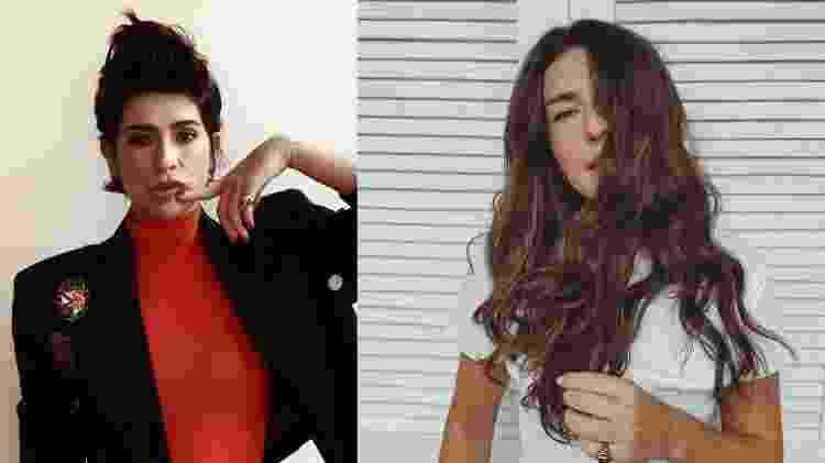 Antes e depois de Fernanda Paes Leme - Reprodução/Instagram - Reprodução/Instagram