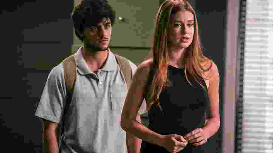 Eliza (Marina Ruy Barbosa) e Jonatas (Felipe Simas) - Globo/Paulo Belote