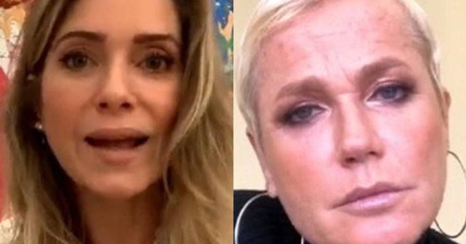 Xuxa e Letícia Spiller em uma live