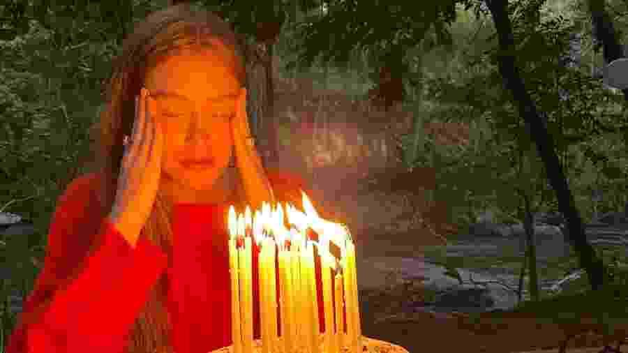 Marina Ruy Barbosa comemora seu aniversário com direito a bolo e doces - Reprodução/Instagram