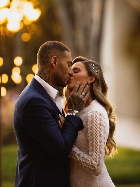 Lucas Lucco e Lorena Carvalho se casaram - Reprodução/Instagram