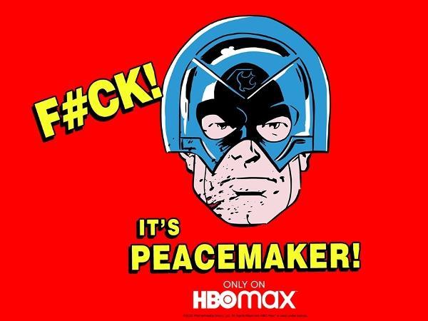 Pôster do spin-off 'Peacemaker' compartilhado por John Cena em seu Twitter