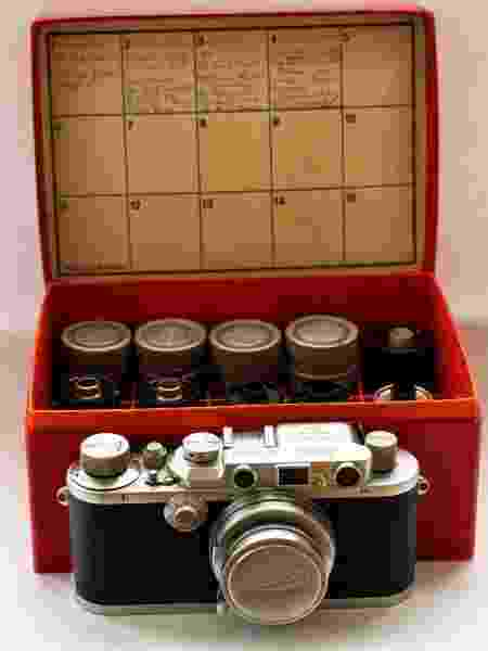 O fotógrafo encontrou os rolos de filme antigos quando comprou uma Leica - Reprodução/William Fagan - Reprodução/William Fagan