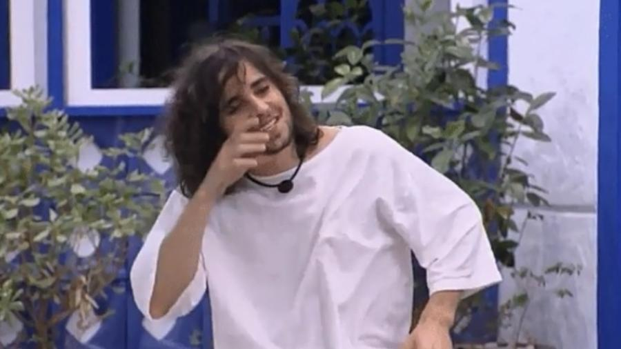 BBB 21: Fiuk imita lobisomem - Reprodução/Globoplay
