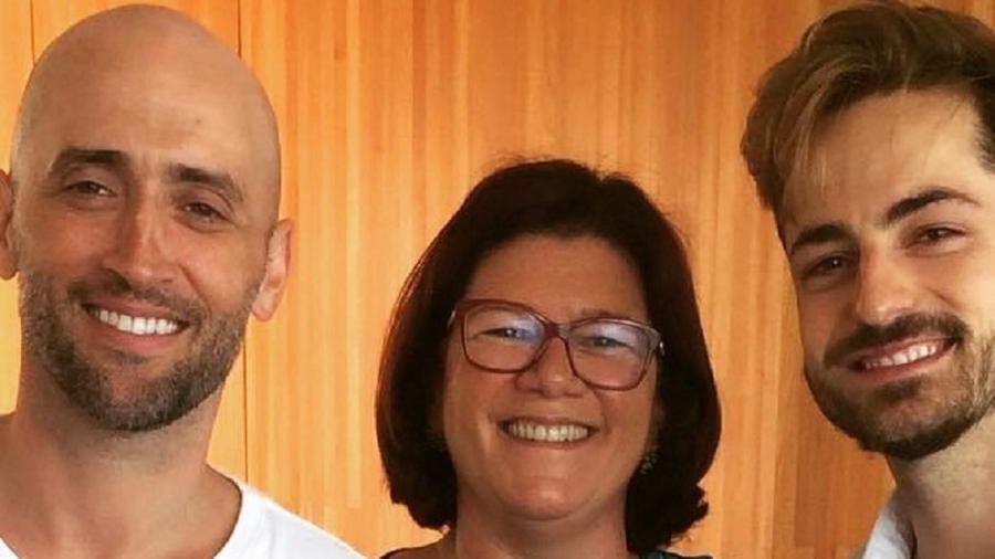 Paulo Gustavo, Andréa Pachá e Thales Bretas - Reprodução/Instagram @thalesbretas