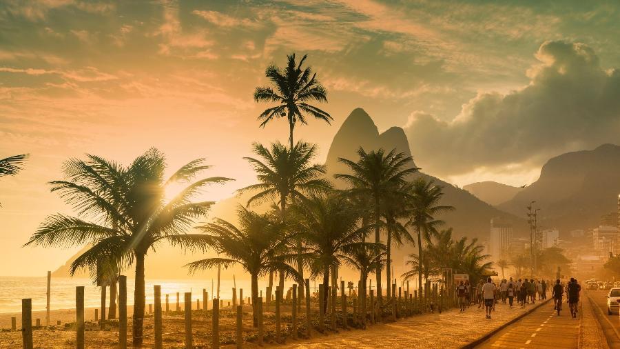 Praia de Ipanema, no Rio: turismo doméstico é tendência mundial - Angelo Cavalli/Getty Images