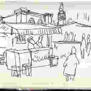 Charge do cartunista Orlando Pedroso sobre a Virada Cultural 2015 - Orlando Pedroso/UOL