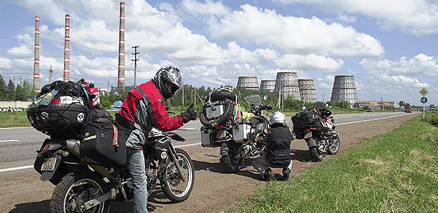 Edgard Cotait, viajante de moto - Arquivo pessoal - Arquivo pessoal