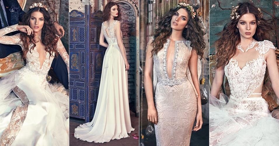 fe067fbe3 Grife israelense de moda para noivas chega ao Brasil; inspire-se em modelos