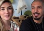Ex-BBBs Aline e Fernando revelam que terão um menino - Reprodução/YouTube