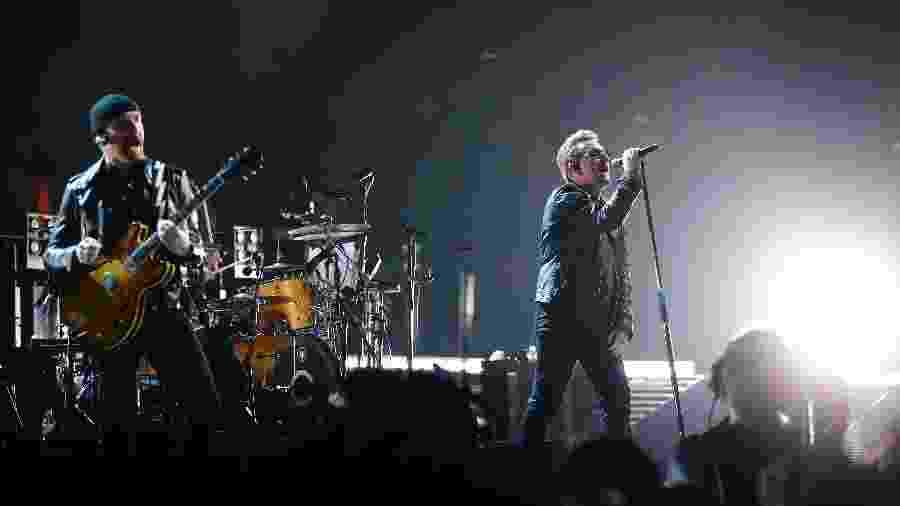 Suposto esquema de venda irregular de ingressos seria para o show do U2, no Morumbi - AFP / THOMAS SAMSON
