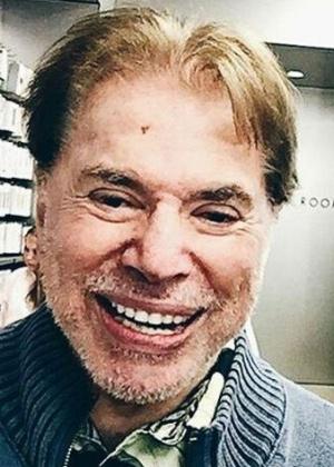 Silvio, ainda barbado, parou as férias para tentar reverter derrotas do SBT - Reprodução