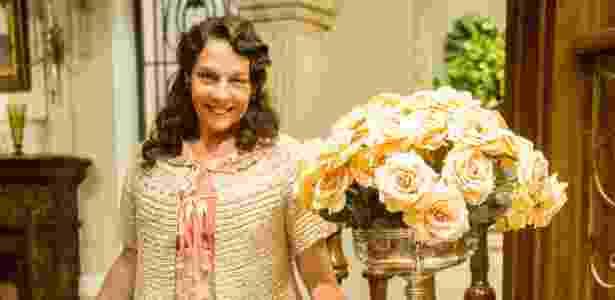 """Rosi Campos faz a divertida Eponina em """"Êta Mundo Bom!"""" e diz que sua inspiração para compor a personagem vem de um trio de tias  - João Miguel Júnior/Globo"""