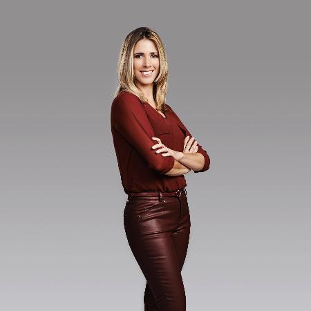 A meteorologista Laura Ferreira, da Band - Divulgação