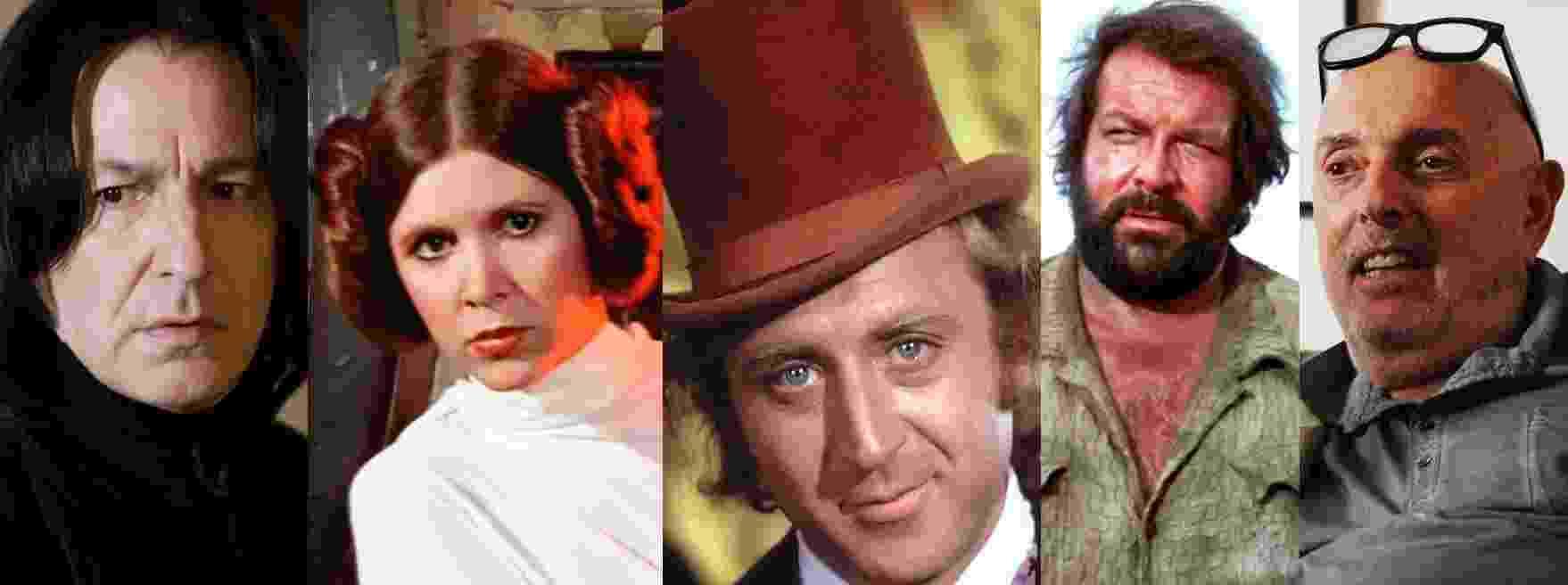 Personalidades do cinema que morreram em 2016 - Reprodução/Montagem