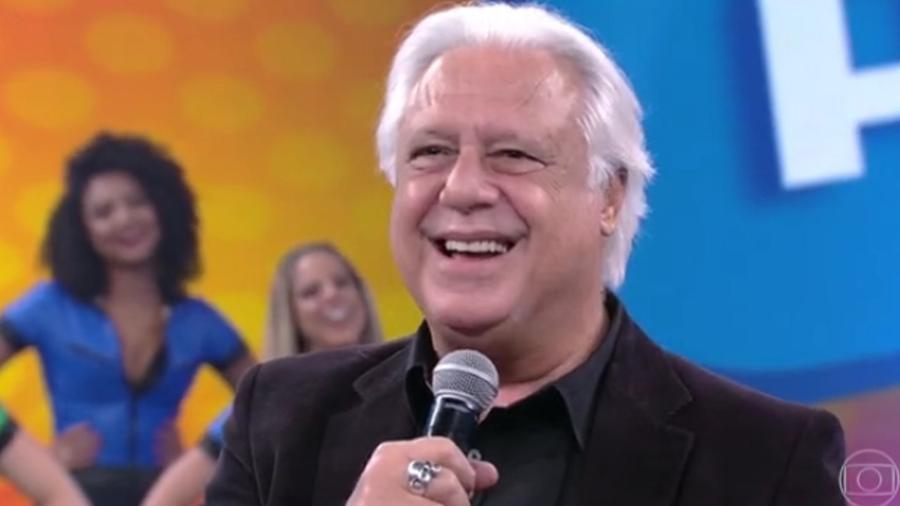 """Antônio Fagundes revela o seu lado romântico durante participação no """"Domingão"""" - Reprodução/TV Globo"""