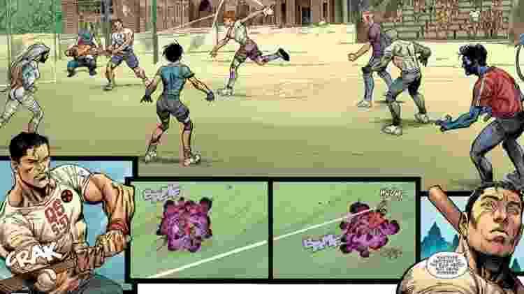 """Personagem de """"X-Men"""" usa camiseta com referência a passagem do Alcorão - Reprodução - Reprodução"""