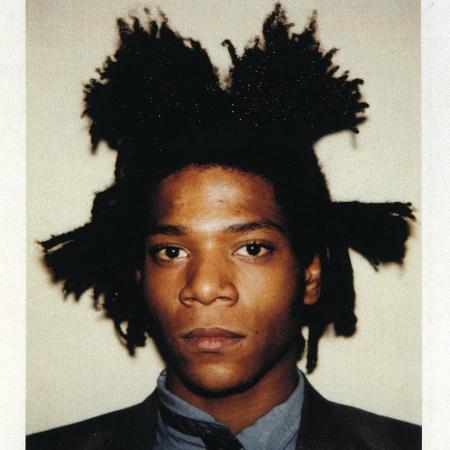 O pintor Jean-Michel Basquiat - Reprodução/Tranter-Sinni Gallery