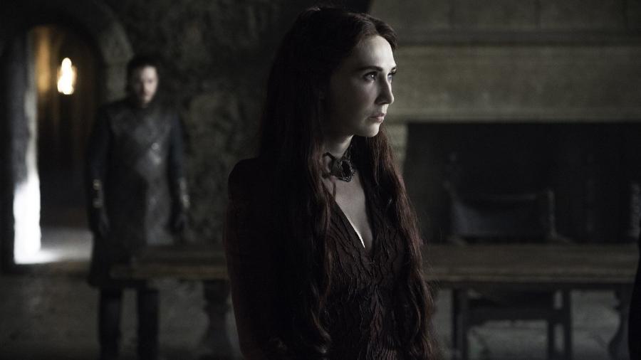 Carice van Houten faz o papel da personagem Melisandre de Asshai - Divulgação