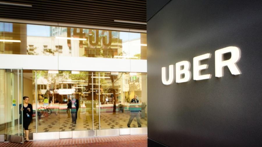 O escritório da Uber em São Francisco - Getty Images