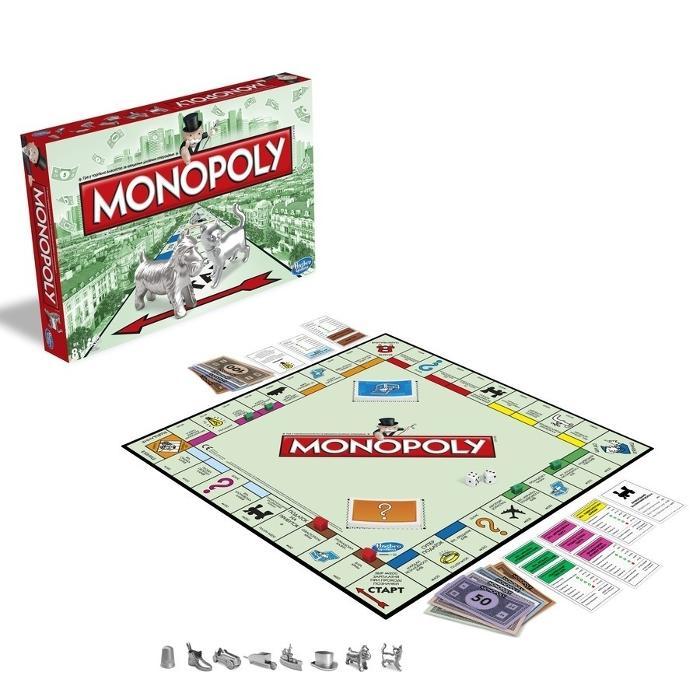 Monopoly, R$ 99,99, Hasbro (www.hasbro.com.br)