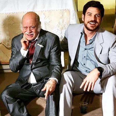 Tonico Pereira (Abel) e Marco Pigossi (Zeca) - Reprodução/Instagram