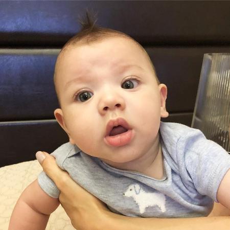Gabriel, filho de Gusttavo Lima e Andressa Suita - Reprodução/Instagram