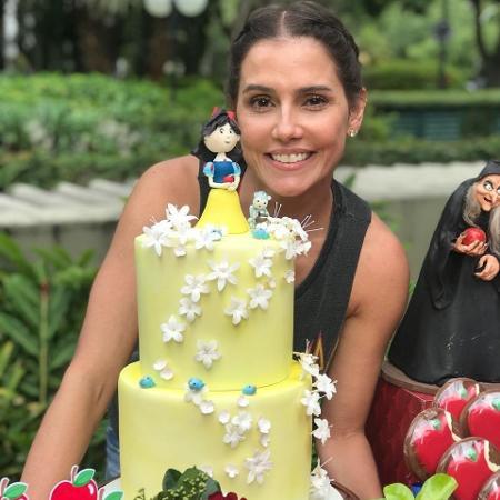 Deborah Secco na segunda festa de aniversário da filha - Reprodução/Instagram