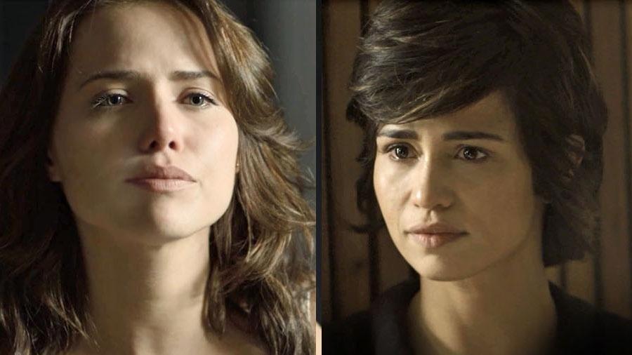 Maura fica surpresa ao descobrir que Rosa é garota de programa - Reprodução/Globo