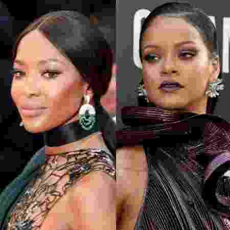Naomi Campbell e Rihanna pararam de se seguir no Instagram  - Getty Images