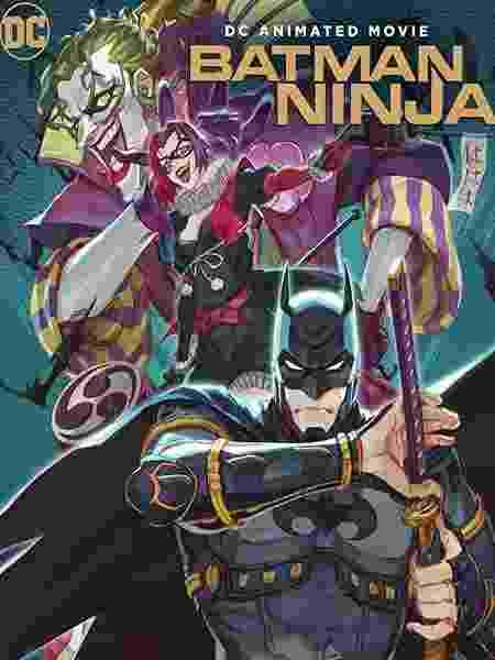 """Pôster da animação """"Batman Ninja"""" - Reprodução - Reprodução"""
