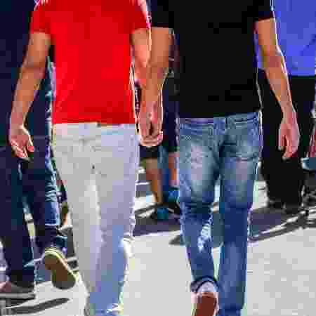 Casal gay - Getty Images