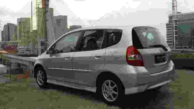 """Honda Fit """"S"""" 2008 - Divulgação - Divulgação"""