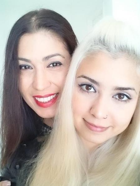 Ana Rosa Augusto (à esq.) e a filha, Ana Luísa - Arquivo Pessoal