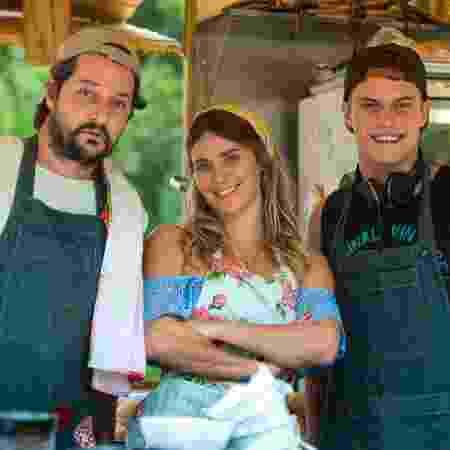 Marcelo Serrado, Carolina Dieckmann e Eduardo Speroni - Estevam Avellar/TV Globo - Estevam Avellar/TV Globo