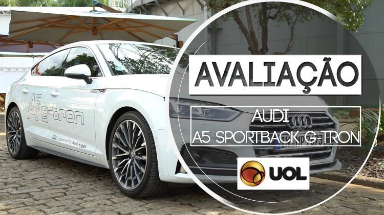 Avaliação  testamos o Audi A5 a gás  assista 82ced3a0a2492