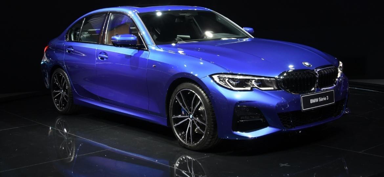 BMW Série 3 foi uma das estrelas da marca na última edição, em 2018 - Murilo Góes/UOL