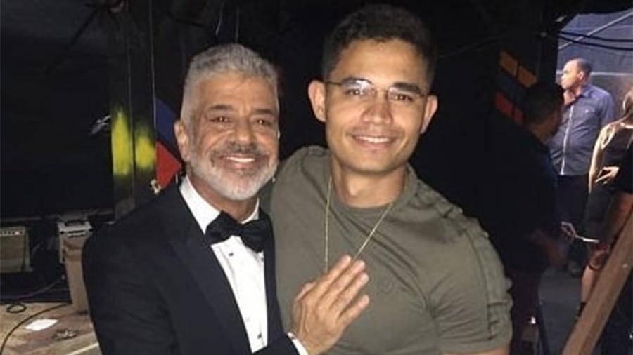 Lulu Santos e Clebson Teixeira - Reprodução/Instagram