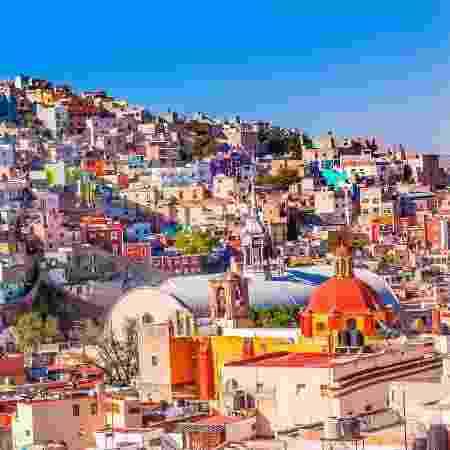 Cidade de Guanajuato, no México - bpperry/Getty Images/iStockphoto