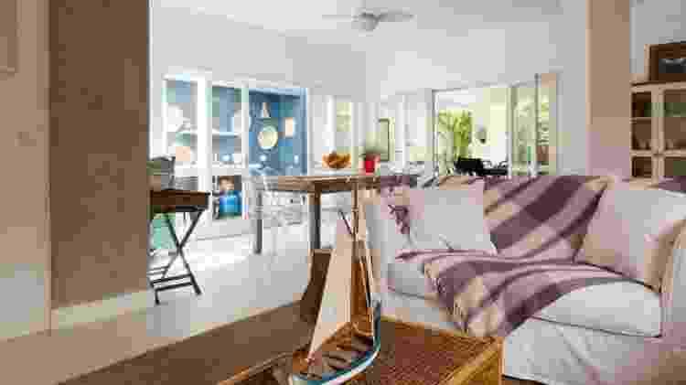 Casa de Juquehy no Airbnb - Divulgação/Airbnb - Divulgação/Airbnb